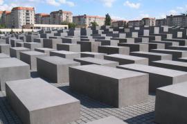 Holocaust Memorial (Memorial of the murdered Jews of Europe) in Berlin