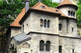 Part of the Jewish Museum in Prague's Jewish Quarter (photocredit: travelerfolio)
