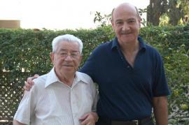 Gabriele Nissim with Moshe Bejski (photocredit: Gariwo)