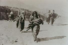 A picture of Armenian genocide