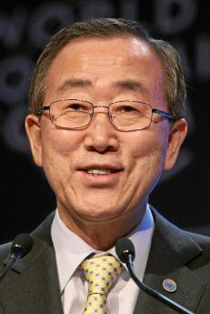 UN Secretary General Ban Ki Moon