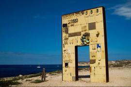 "Mimmo Paladino, ""The door of the Mediterranean"""