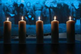 Candles lit to remember Holocaust victims in Moscow