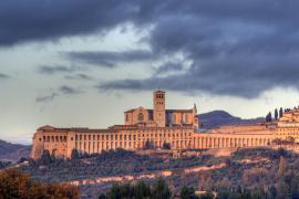 View of the city of Assisi