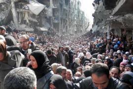 People in Yarmouk