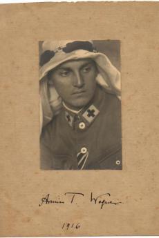 Armin T. Wegner in 1916