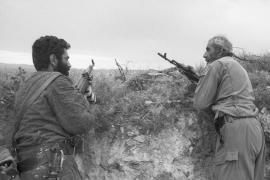 Battle scenes in the Caucasus