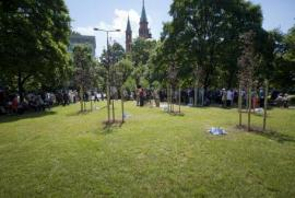 The Garden of the Righteous in Warsaw
