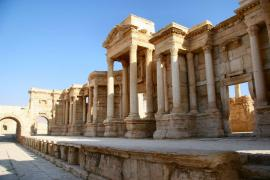 The ruins of Palmyra