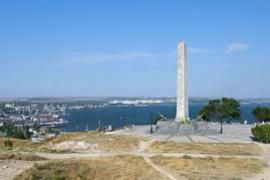 The obelisk of glory, Kerch