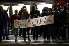 Some Germans' welcome to migrants