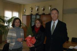 Emilio Barbarani in Benevento on past 6 March