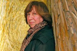 Literature Nobel Laureate Svetlana Aleksievic