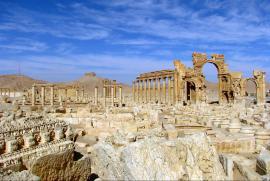 Palmyra before its destruction