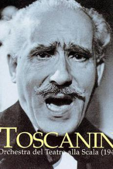 Arturo Toscanini, cover of a music album