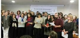 Academics who signed the appeal for peace in the Kurdish region