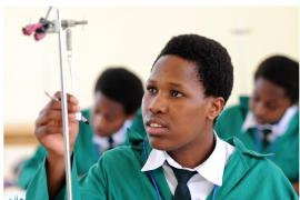 Success in improvement of girls' education is a key achievement in the reconstruction of Rwanda