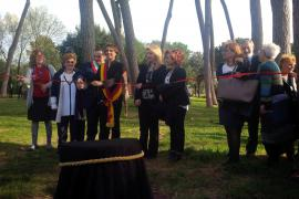 Inauguration of the Garden
