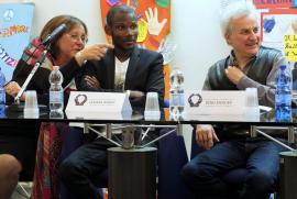 Lassana Bathily in Vercelli