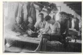 Inmates in Ferramonti di Tarsia