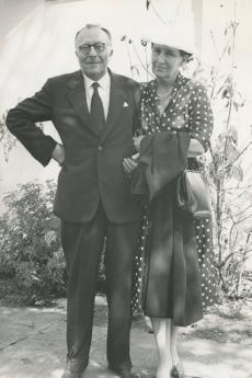 Guido Ucelli di Nemi and Carla Tosi
