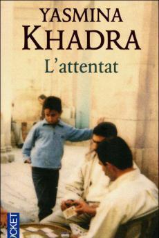 The cover of Yasmina Khadra's book
