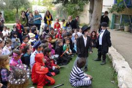 Purim celebration at the primary school