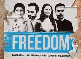 """The """"Douma four"""", the human rights defenders kidnapped in Syria in December 2013"""