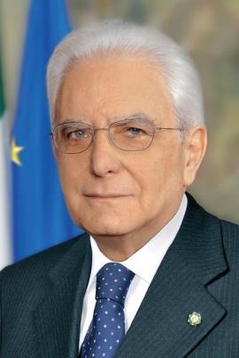 The President of the Republic Sergio Mattarella