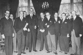 The delegates at the Evian Conference in 1938