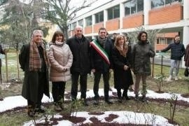 The inauguration of the Garden of Parma
