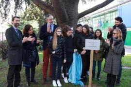 The inauguration of the Garden