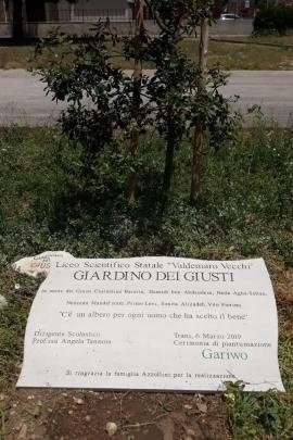 Plaque of the Garden