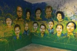 Mural dedicated to the Rwandan Righteous