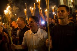 """Unite the Right"" rally in Charlottesville, 2017."