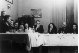 Franco Sopianac with some Jews he saved