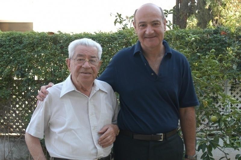 Bejski and the president of Gariwo, Gabriele Nissim
