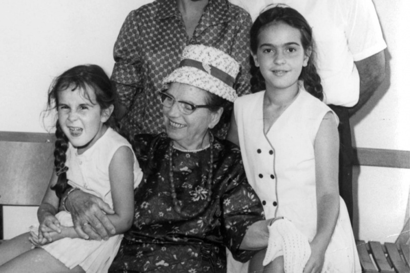 When the danger to Jews increased, she organized, with the help of her friends, hiding places for the Jewish children