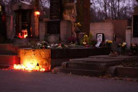 Jan Palach's grave