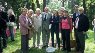 Ceremony at the Garden of the Righteous in Milan 2009