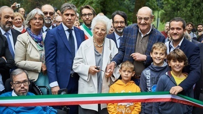 New inauguration of Milan Garden of the Righteous