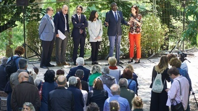Denis Mukwege at the Garden of Milan