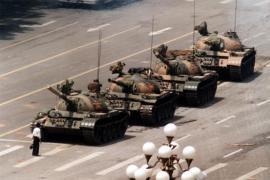 25 years ago, Tiananmen Square