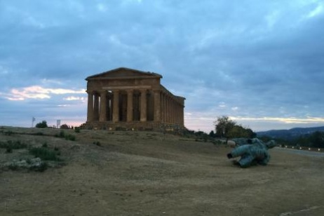 Father Puglisi's tree in the Temple Valley of Agrigento