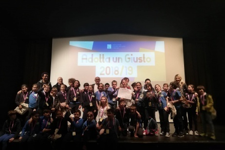 "Competition notice ""Adopt a Righteous 2018/19"""
