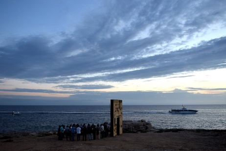 THE MONUMENT OF THE CHOICE IN LAMPEDUSA
