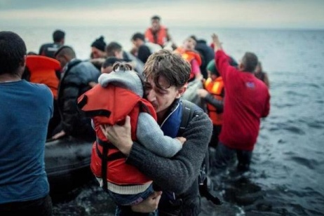 Atmosphere of conflict in Lesbos
