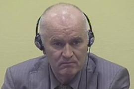 Defendant Ratko Mladic (picture  by ITCY staff)