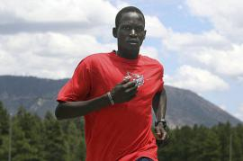 Marathonete Guol Marial (picture by Reuters)