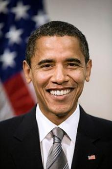 The US President Barack Obama (picture by Wikipedia)